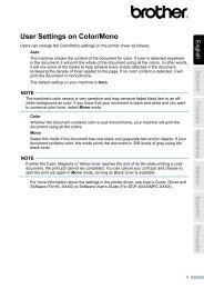Brother MFC-9140CDN - Informazioni relative alla Fine vita della Cartuccia Toner