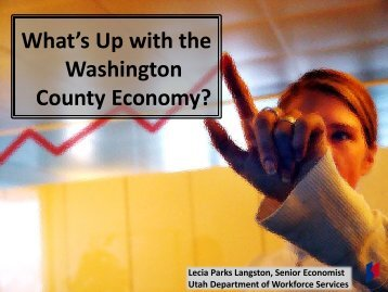 What's Up with the Washington County Economy?