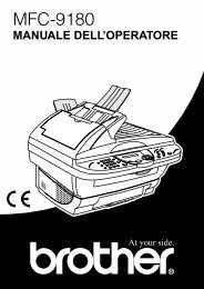 Brother MFC-9180 - Guida Utente