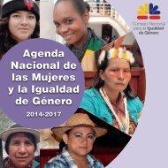 AGENDA NACIONAL DE LAS MUJERES Y LA IGUALDAD DE GÉNERO