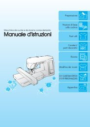 Brother Innov-is 1500D/1500 - Manuale d'istruzione