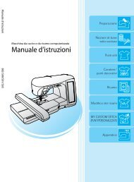 Brother Innov-is 4000D/4000 - Manuale d'istruzione