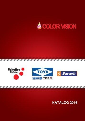Color Vision Katalog 2016