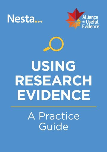 USING RESEARCH EVIDENCE