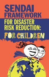 FRAMEWORK FOR DISASTER RISK REDUCTION