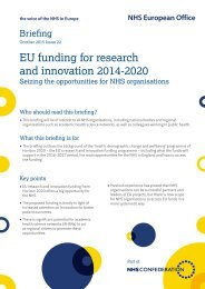 EU funding for research and innovation 2014-2020