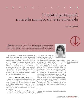 #21 L'habitat participatif, nouvelle manière de vivre ensemble