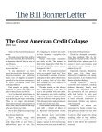 THE GREAT AMERICAN CREDIT COLLAPSE - Page 2