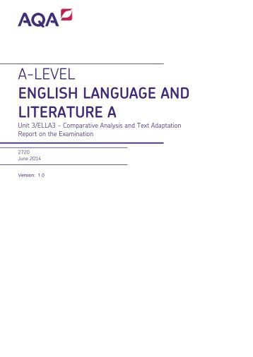 a level english literature and language coursework A level english language and literature course this course covers the brand new spec introduced in september 2015 uk open college are pleased to offer the.