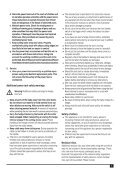 BlackandDecker Hedgetrimmer- Gt450 - Type 2 - Instruction Manual (Inglese) - Page 5