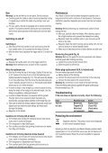 BlackandDecker Hedgetrimmer- Gt450 - Type 2 - Instruction Manual (Inglese) - Page 7