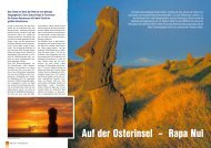 Auf der Osterinsel – Rapa Nui - KAESER KOMPRESSOREN GmbH