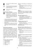 BlackandDecker Hedgetrimmer- Gt7026 - Type 1 - Instruction Manual (Polonia) - Page 6