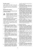 BlackandDecker Hedgetrimmer- Gt7026 - Type 1 - Instruction Manual (Czech) - Page 3
