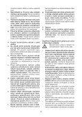 BlackandDecker Hedgetrimmer- Gt7026 - Type 1 - Instruction Manual (Czech) - Page 4