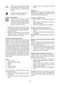 BlackandDecker Hedgetrimmer- Gt7026 - Type 1 - Instruction Manual (Czech) - Page 6