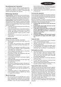 BlackandDecker Tagliabordi A Filo- Gl5530 - Type 1 - Instruction Manual (Ungheria) - Page 5