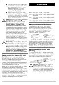 BlackandDecker Hedgetrimmer- Gt221 - Type 1 - Instruction Manual (Europeo) - Page 6