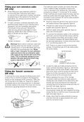 BlackandDecker Hedgetrimmer- Gt221 - Type 1 - Instruction Manual (Europeo) - Page 7