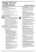 BlackandDecker Hedgetrimmer- Ht33 - Type 1 - Instruction Manual (Inglese) - Page 3
