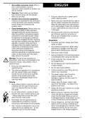 BlackandDecker Hedgetrimmer- Ht33 - Type 1 - Instruction Manual (Inglese) - Page 4