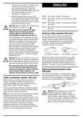 BlackandDecker Hedgetrimmer- Ht33 - Type 1 - Instruction Manual (Inglese) - Page 6
