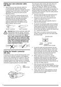 BlackandDecker Hedgetrimmer- Ht33 - Type 1 - Instruction Manual (Inglese) - Page 7