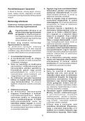 BlackandDecker Hedgetrimmer- Gt6030 - Type 1 - Instruction Manual (Ungheria) - Page 3