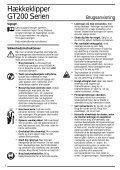 BlackandDecker Tagliatrice- Gt334 - Type 1 - Instruction Manual (Nordico) - Page 3