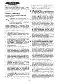 BlackandDecker Tagliasiepi Sen Cavo- Gtc1845l - Type 1 - Instruction Manual (Romania) - Page 4