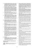 BlackandDecker Tagliasiepi Sen Cavo- Gtc1845l - Type 1 - Instruction Manual (Romania) - Page 5