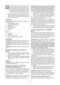BlackandDecker Tagliasiepi Sen Cavo- Gtc1845l - Type 1 - Instruction Manual (Romania) - Page 7