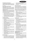 BlackandDecker Tagliabordi A Filo Senza Cavo- Glc3630l - Type H1 - Instruction Manual (Ungheria) - Page 5