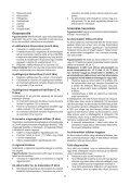 BlackandDecker Tagliabordi A Filo Senza Cavo- Glc3630l - Type H1 - Instruction Manual (Ungheria) - Page 7