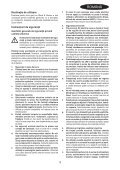 BlackandDecker Hedgetrimmer- Gt115 - Type 3 - Instruction Manual (Romania) - Page 3