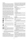 BlackandDecker Hedgetrimmer- Gt115 - Type 3 - Instruction Manual (Romania) - Page 5