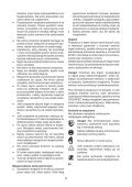 BlackandDecker Hedgetrimmer- Gt115 - Type 3 - Instruction Manual (Polonia) - Page 5