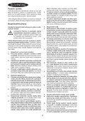 BlackandDecker Taglia Cespuglio- Gsl200 - Type H1 - Instruction Manual (Slovacco) - Page 4