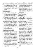 BlackandDecker Tagliabordi A Filo Senza Cavo- Stc1820 - Type 1 - Instruction Manual (Ungheria) - Page 7