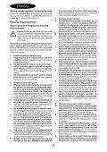 BlackandDecker Tagliasiepi Sen Cavo- Gtc3655l - Type H1 - Instruction Manual (Polonia) - Page 4