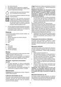BlackandDecker Tagliasiepi Sen Cavo- Gtc3655l - Type H1 - Instruction Manual (Polonia) - Page 7