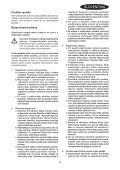 BlackandDecker Hedgetrimmer- Gt515 - Type 2 - Instruction Manual (Slovacco) - Page 3