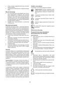 BlackandDecker Tagliasiepi Sen Cavo- Gtc1445l - Type H1 - Instruction Manual (Ungheria) - Page 6