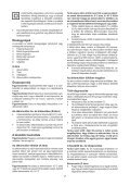 BlackandDecker Tagliasiepi Sen Cavo- Gtc1445l - Type H1 - Instruction Manual (Ungheria) - Page 7