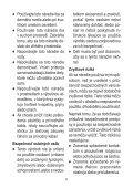 BlackandDecker Tagliabordi A Filo Senza Cavo- Stc1820d - Type 1 - Instruction Manual (Slovacco) - Page 6