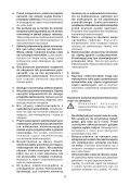 BlackandDecker Hedgetrimmer- Gt5026 - Type 1 - Instruction Manual (Polonia) - Page 4