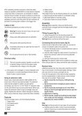 BlackandDecker Hedgetrimmer- Gt90 - Type 3 - Instruction Manual (Inglese) - Page 6