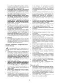 BlackandDecker Hedgetrimmer- Gt110 - Type 3 - Instruction Manual (Romania) - Page 4