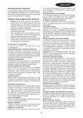 BlackandDecker Tagliabordi A Filo- Gl315 - Type 1 - Instruction Manual (Ungheria) - Page 5