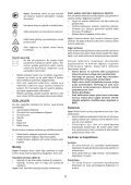 BlackandDecker Hedgetrimmer- Gt450 - Type 1 - Instruction Manual (Turco) - Page 5